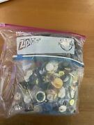 Lot Of Assorted Vintage Antique And Modern Sewing Buttons