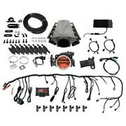 Fitech 79111 Ls Kit W/ 70011 Inline Fuel Pump And Led Coil Pack