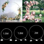 Circle Balloon Column Stand Holder Round Balloon Arch Frame Ring For Party Decor