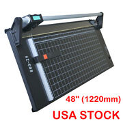 48and039and039 1220mm Manual Precision Rotary Paper Trimmer For Photo Paper Cutter Machine