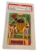 Wizard Of Oz Trading Card 1940 Castell Dorothy Munchkins Psa 8 Balloon 10 Red