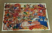 Vintage And Rare 1984 New Orleans World's Fair Official Map Poster