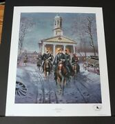 Mort Kunstler - The Gray Ghost - Collectible Civil War Print - Mint Condition
