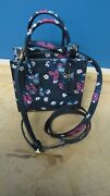 Coach Cashin Carry 747 Tote 14 Nwt B4 Multi With Blocked Floral Print