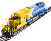 Broadway Limited Ho 6789 Emd Sd40-2 Ontario Northland 1734 Blue And Yellow Arrow