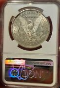 Rare - 1892-s Morgan Silver Dollar - Just Back From Ngc Au53 Looks Undergraded@@