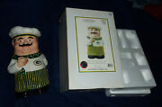 Green Bay Packers Chef Cookie Jar 1st Ceramic 2004 Nfl Memory Company Rare