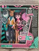 Very Rare New Monster High Forbitten Love Doll Set Draculaura Clawd Collector