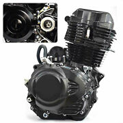 4-stroke Single-cylinder Engine Motor Water-cooled Manual Wet Multi-plate 350cc