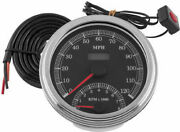 Bikers Choice Cable Driven Speedomoeter/tach Combo Motorcycle Street Bike
