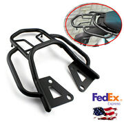 Motorcycle Luggage Rack Support Shelf Cargo Rack Extended Bar Carrier Plate Kit