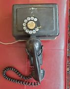 Vintage Western Electric Model 211 Space Saver Rotary Dial 43a F1 And 634a Ringer