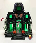 Bath And Body Works - 2021 Halloween Haunted House Luminary 3-wick Candle Holder