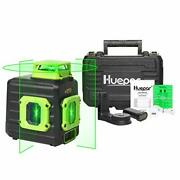 Cross Line Laser Level Green 360anddeg Horizontal And Two Vertical Lines Self