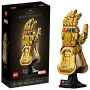 Lego Marvel Infinity Gauntlet 76191 Thanos Right Hand With Infinity Stones Toy