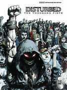 Disturbed Ten Thousand Fists Guitar And Bass Tab Book New
