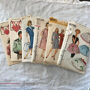 Vintage Lot Of Sewing Patterns