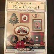 The Schiffer Collection Father Christmas I And Ii Cross Stitch Floss Tube