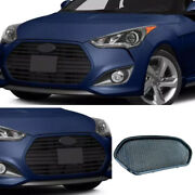 Dry Carbon Fiber Front Center Mesh Grill Cover Trim For Hyundai Veloster 11-2016