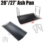 20/27 Ash Pan Parts For Chargriller Dual Fuel Combination Charcoal/gas Grills