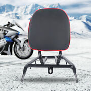 Electric Motorcycle Small Backrest Power-assisted Luggage Rack Pu Leather