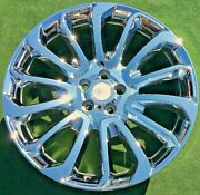 Chrome Factory Range Rover Autobiography Wheels New Genuine Oem 22 Inch Perfect