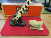 Vintage Lionel Postwar 252 Automatic Crossing Gate O Gaugew/box And Directions