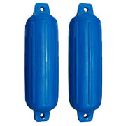 Taylor Made Blue Boat Gard Fender - 5 X 18 - Twin Pack 2 Bumpers