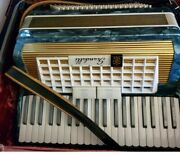 Antique Accordian With Case