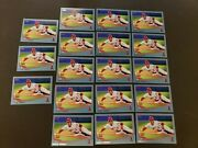 18 Mike Trout 2013 Topps Rookie Cup Sliding Walmart Blue Border 27 Angels Lot