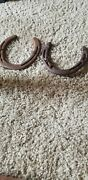 Vintage Horse Shoes Forged
