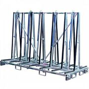 Double Sided A-frame Large 8 Foot Transport Cart From Weha