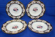 Charles Meigh And Sons Blantyre 4 Soup Bowls 10 5/8 Lot B C1851-61