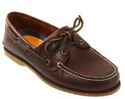 New Classic 2-eye Oxford Boat Shoes Mens Sizes 8.5-12 Free Usa Ship