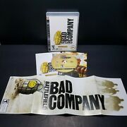 Battlefield Bad Company - Gold Edition Sony Playstation 3 2008 Ps3 Complete