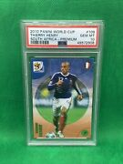 2010 Panini World Cup South Africa Premium Thierry Henry 109 Gem Mint Psa 10