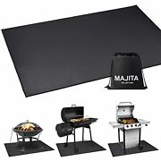 Under Bbq Grill Mat For Outdoor Charcoal Flat Top Smokers Gas Grills 60andtimes42 In
