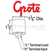 Grote Hazard Warning And Turn Signal Flasher For 1971-1973 Triumph Stag 3.0l Sy