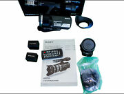 Sony Handycam Nexvg10 Video Camera 2 Batteries Battery Charger Remote Sony Laea3