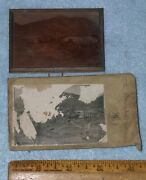 Antique Virginia City Nv Mining And Mt Davidson Copper Printing Plate Nos Unused