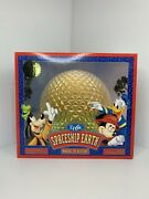 Vtg Disney Epcot Spaceship Earth Monorail Playset Theme Park Toy Accessory Boxed