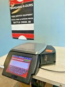 Hobart Hlxwm Heavy Duty Programmable Commercial Weight Scale W/label Printer