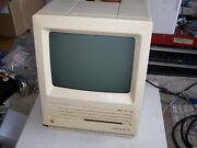 Macintosh Se Case, Crt And Power Supply - Estate Sale Sold As Is