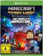 Microsoft Xbox One Game - Minecraft Story Mode The Complete Adventure Boxed