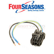 Four Seasons Cooling Fan Motor Wiring Harness For 1983-1988 Ford Exp 1.6l Om