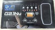 Multi-effector Zoom G2.1nu Box, Ac Adapter Included