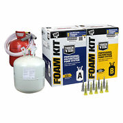 Dap Touch And039n Seal 600 Bf Spray Foam Insulation Kit 1.75 Fr Closed Cellfree Ship