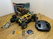 Lego Racers 8376 Hot Flame Rc Car [tested] [complete + Bonus Parts]