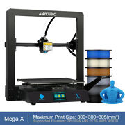Anycubic Mega X Fdm 3d Printers Ultrabase Hotbed Meanwell Power Large Print Size