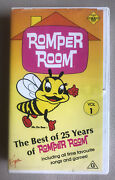 Romper Room Vol 1 The Best Of 25 Years 1988 Vhs Pal Rare